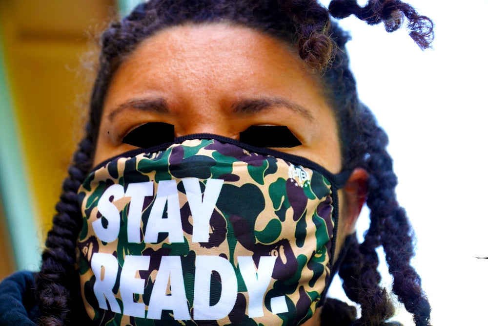 Image of MASK ON Stay Ready CAMO