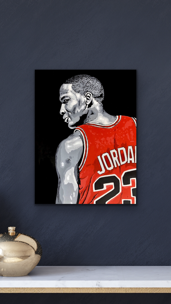 Image of MJ Canvas Print