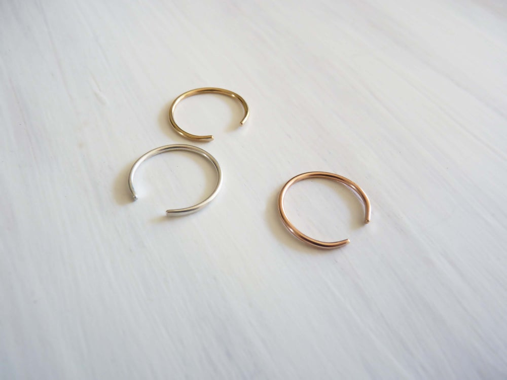 Image of Pinky clean ring