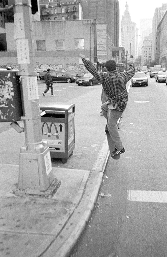 Mark Gonzales, New York City, 1996 by Tobin Yelland