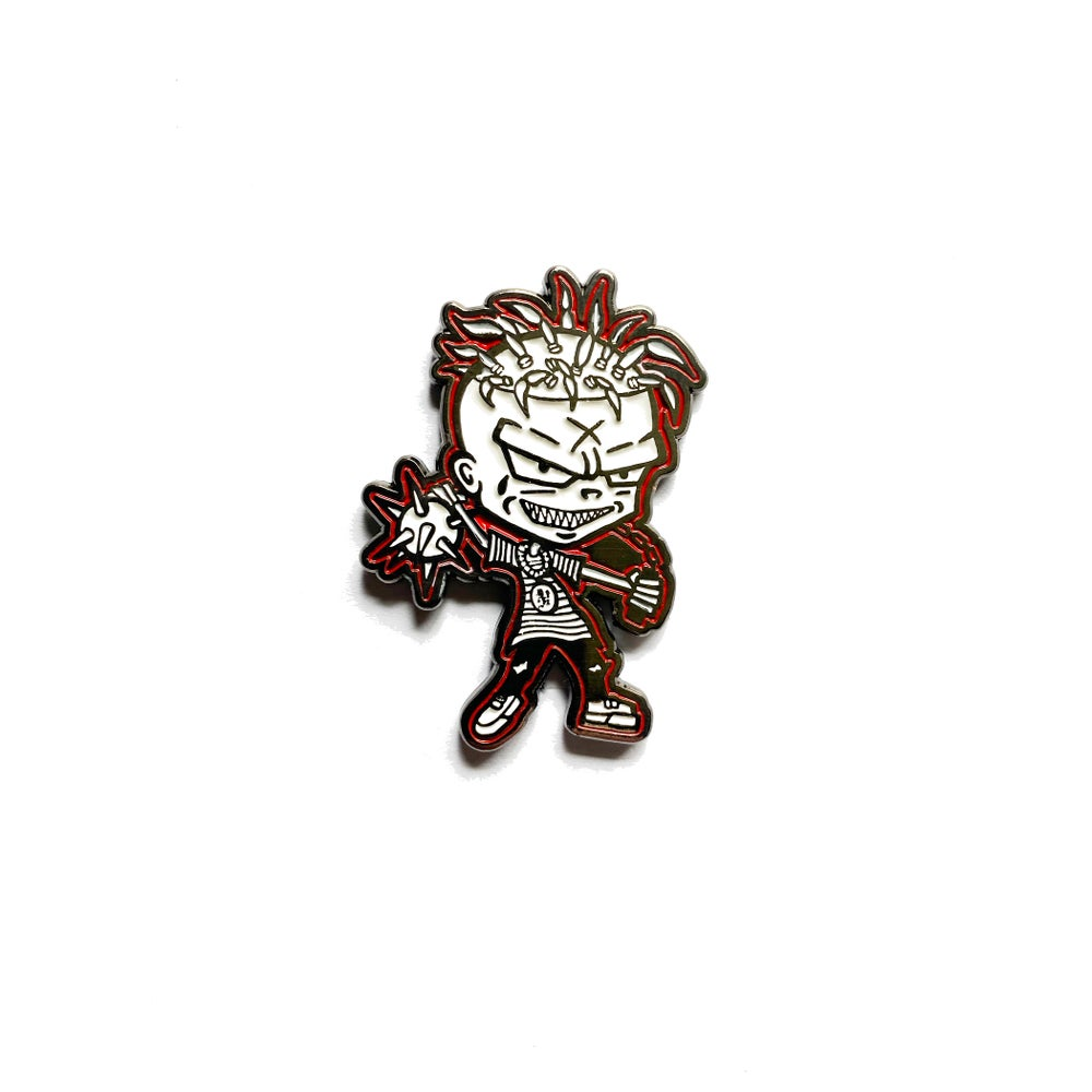 Image of Lil' Ouija Macc Alchemy character - hat pin
