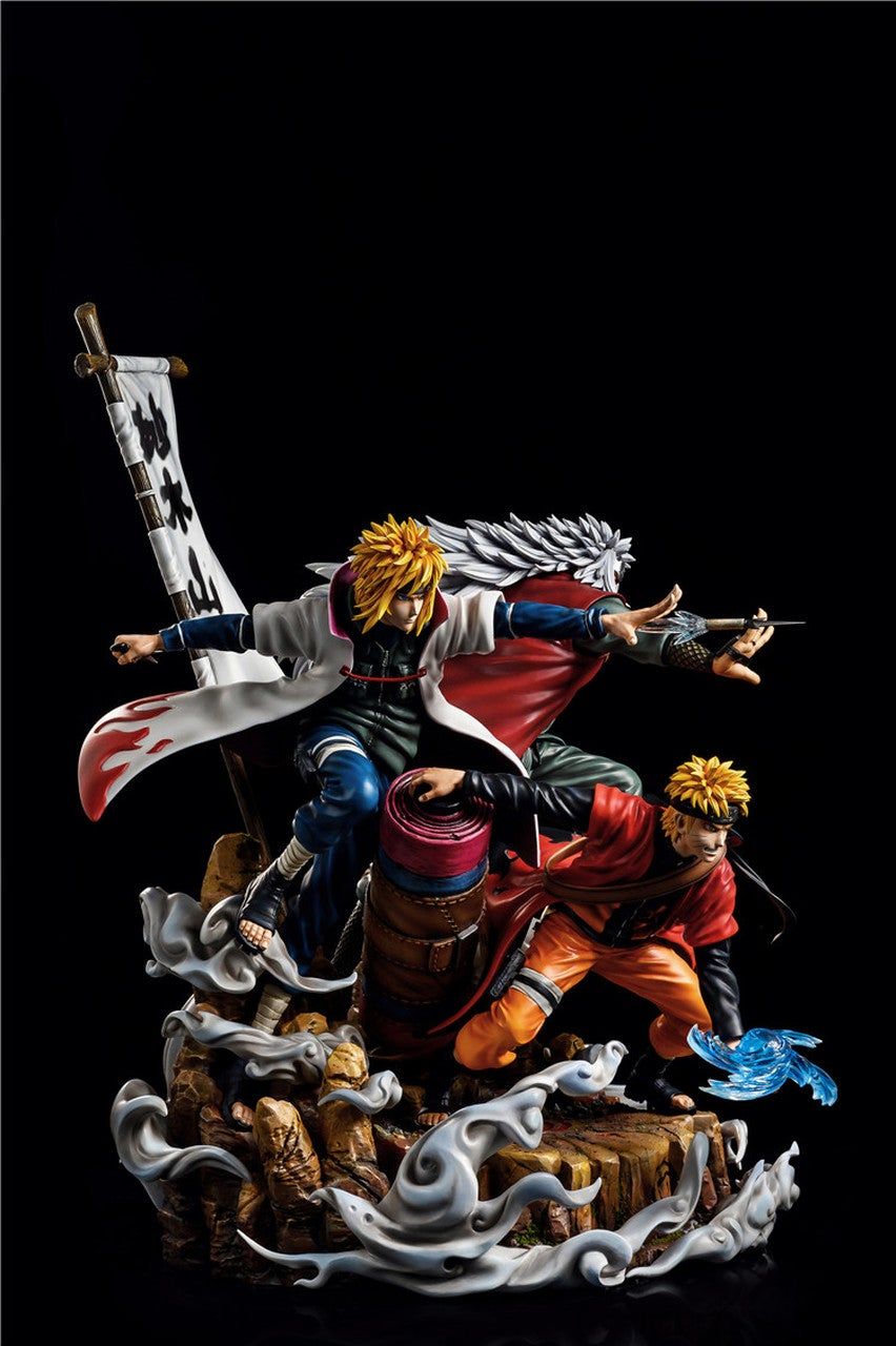 "Image of CW & Surge studio 1/7 scale ""Fate"" Minato & Naruto & Jiraiya"