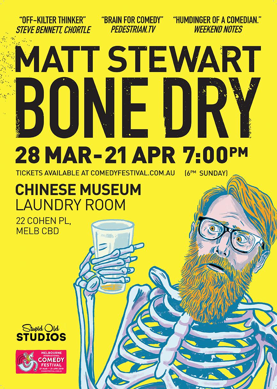 Bone Dry - A3 Poster