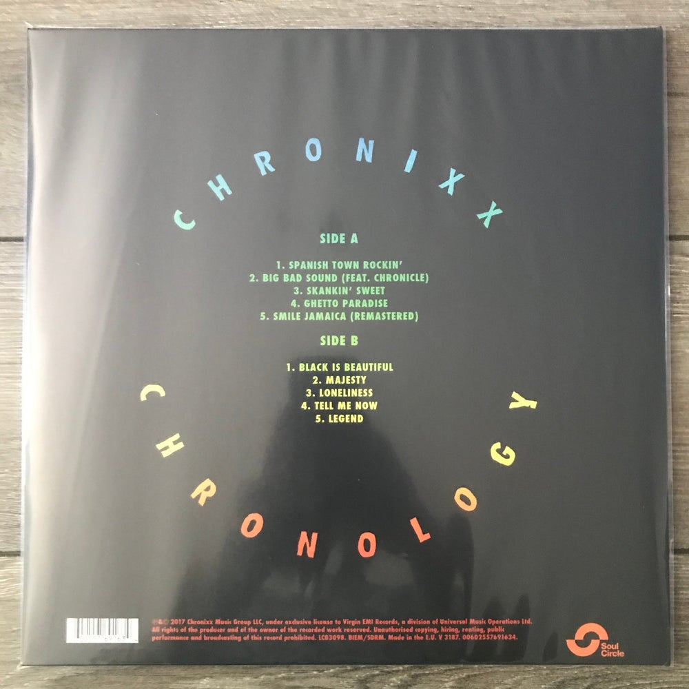Image of Chronixx - Chronology Vinyl LP