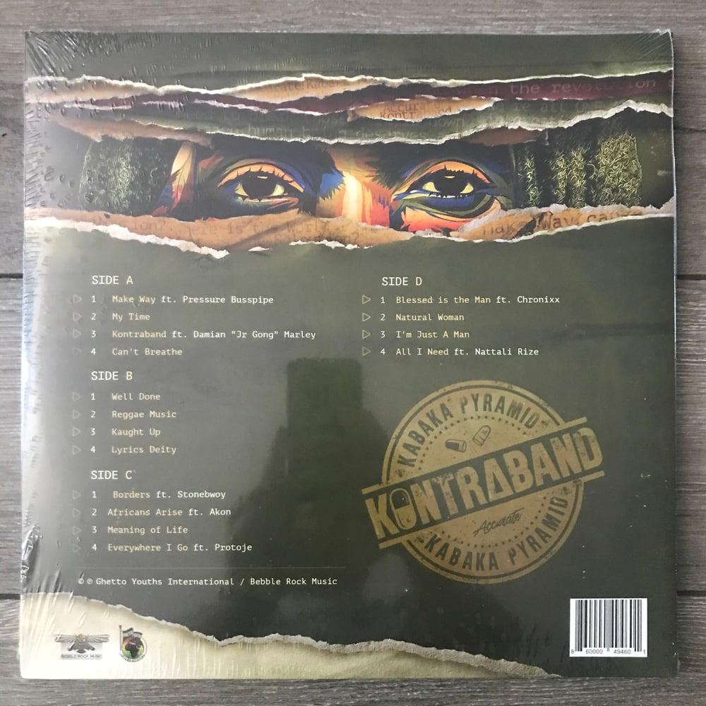 Image of Kabaka Pyramid - Kontraband Vinyl 2xLP