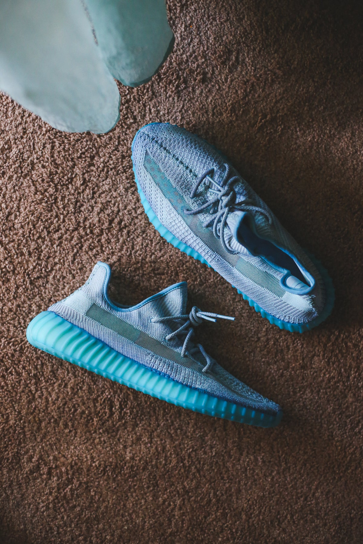 Image of ICY BLUE YEEZY 350 V2