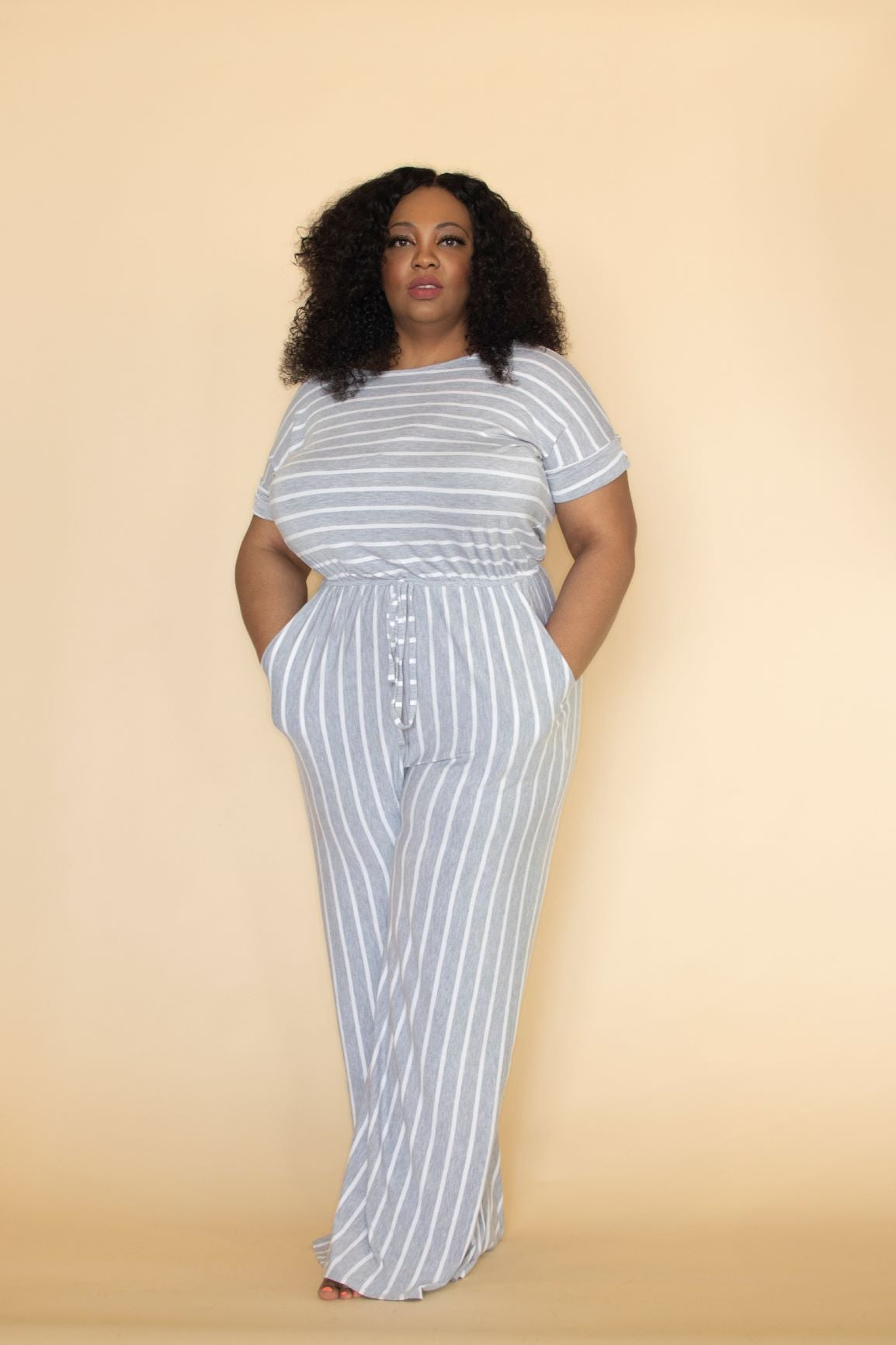 Image of Curvy Hautie JumpSuit