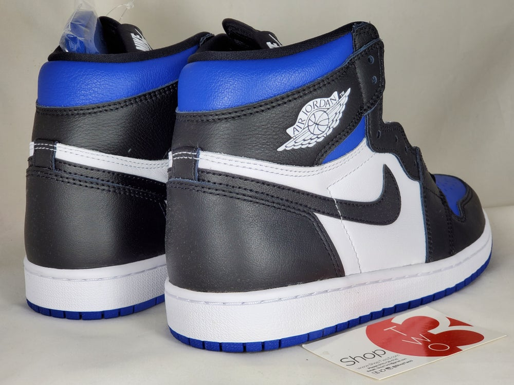 Image of Air Jordan Retro 1 High OG Royal Toes