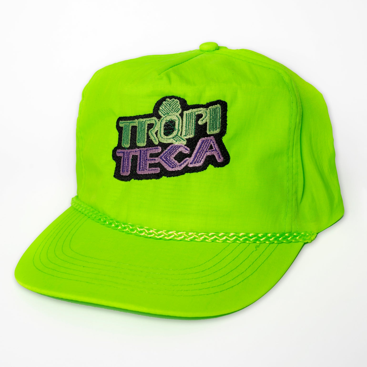 Image of TRQPITECA NEON GREEN HAT