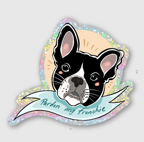 Image of Pardon My French Sticker