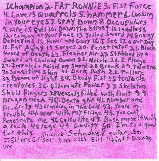 """Image of Dummy Dumpster """"50 Songs"""" CD"""