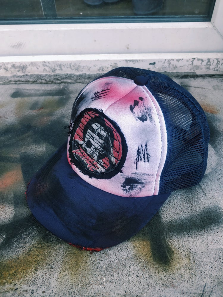 Image of Zombie trucker hat