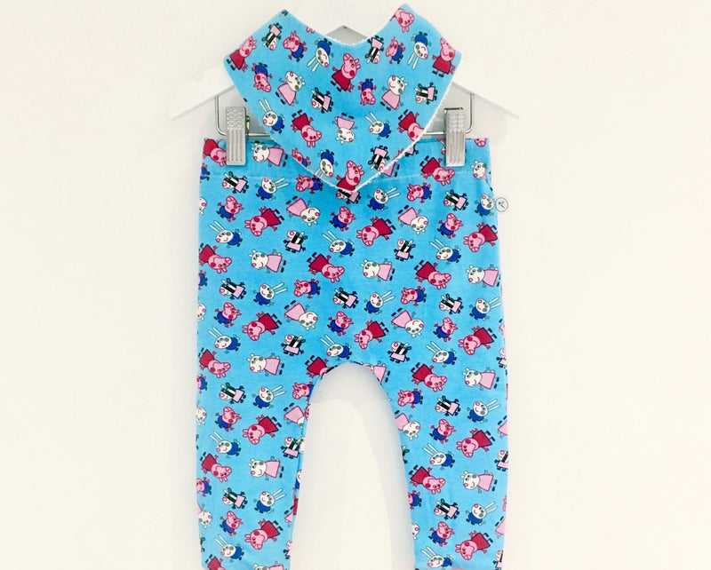 Image of Peppa Leggings 3-6m left