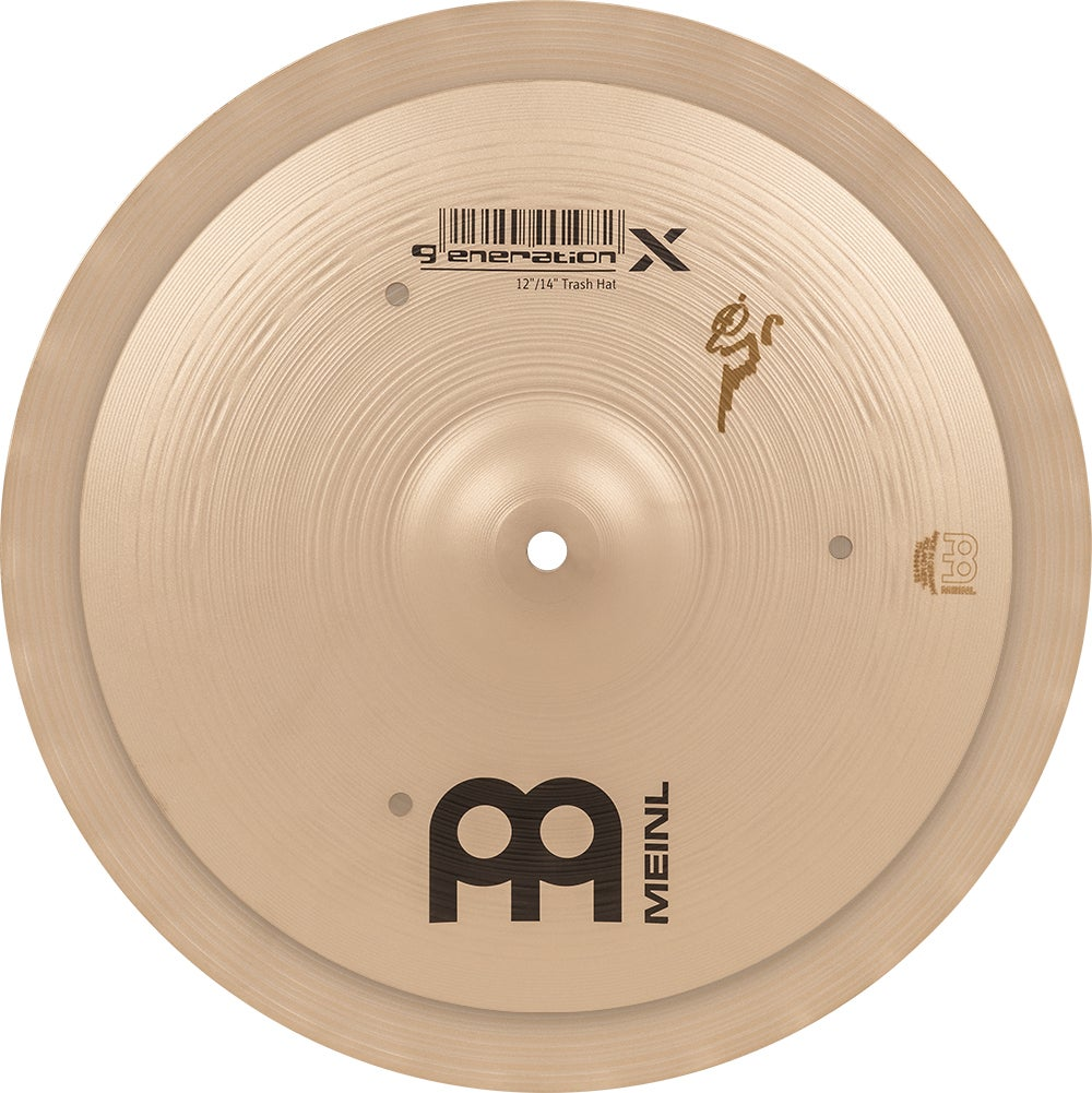 """Image of Hand-selected by Benny Greb: MEINL 12""""/14"""" GENERATION X TRASH HAT"""