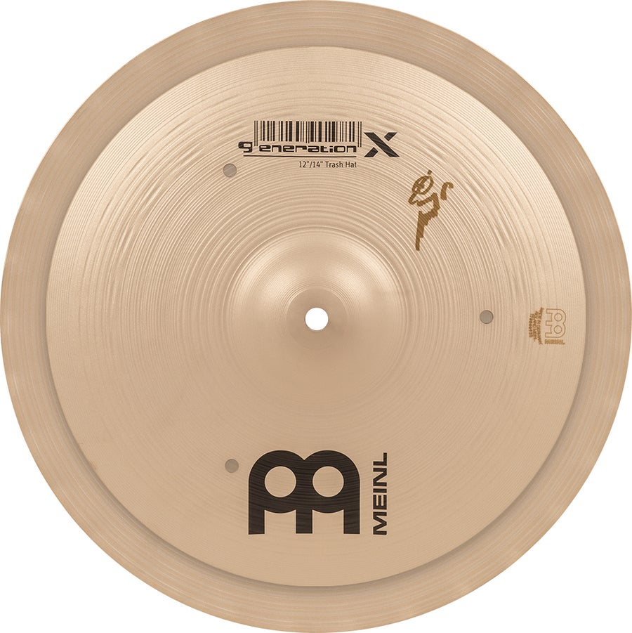 "Image of Hand-selected by Benny Greb: MEINL 12""/14"" GENERATION X TRASH HAT"