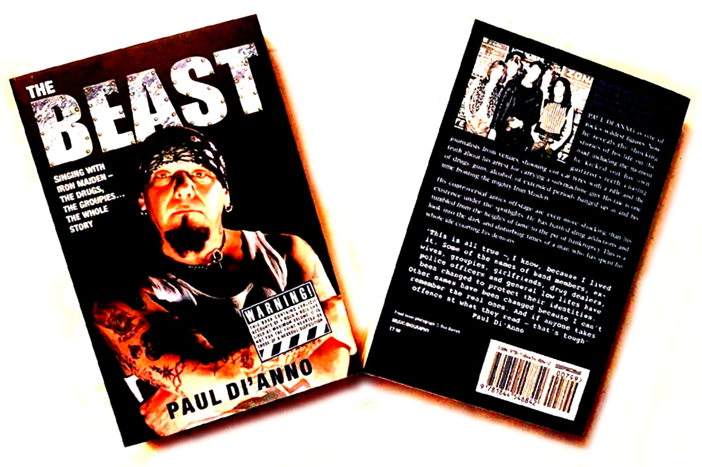 Image of PAUL DIANNO - The Beast - Biography Book