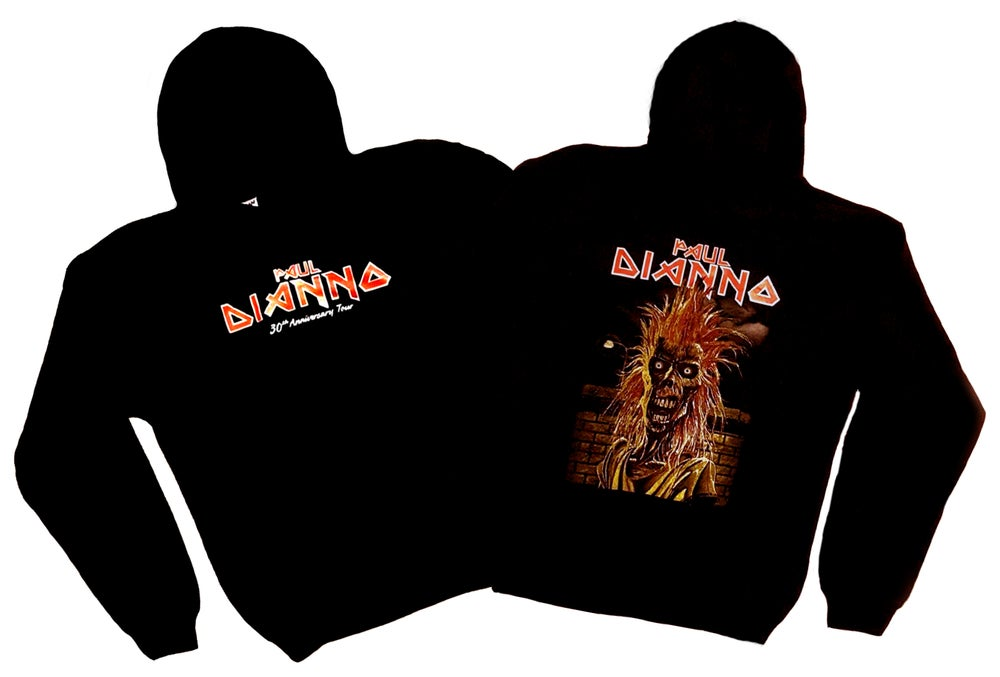 Image of PAUL DIANNO -  30th Anniversary of Iron Maiden - Aussie Tour Hoodie