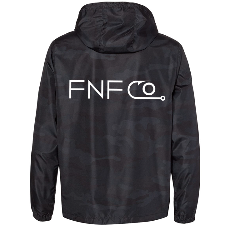 Image of FNFCO Pullover Jacket (black camo)