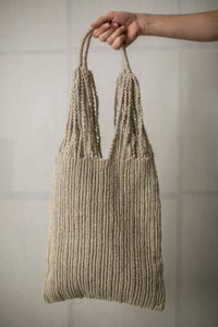 Image of Natural macrame bag by Lauren Manoogian