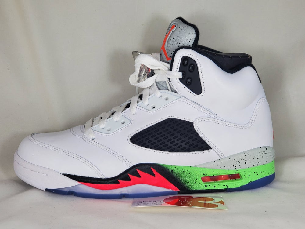 Image of Air Jordan 5 Retro  Poison Green