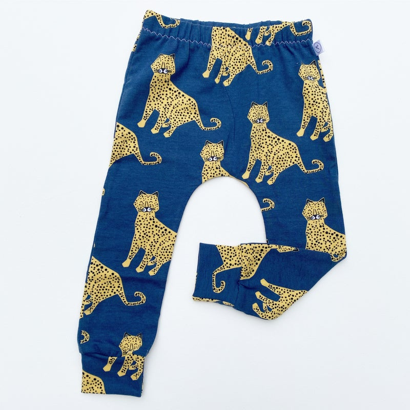 Image of Blue Cheetah Leggings
