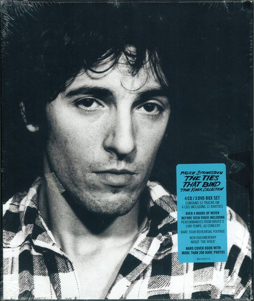 Image of Bruce Springsteen - Ties That Bind (River Collection) CD/DVD Box