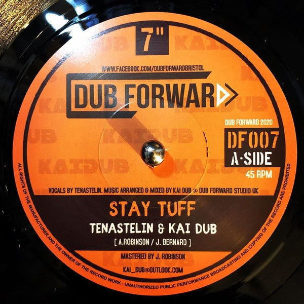 KAI DUB FT TENA STELIN - STAY TUFF + DUB [DF007] DUB FORWARD
