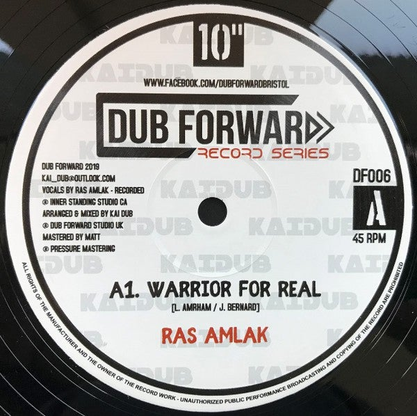 KAI DUB FT RAS AMLAK - WARROR FOR REAL + FOR REAL + REAL DUB