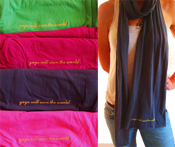 Image of Yoga Will Save the World Scarves