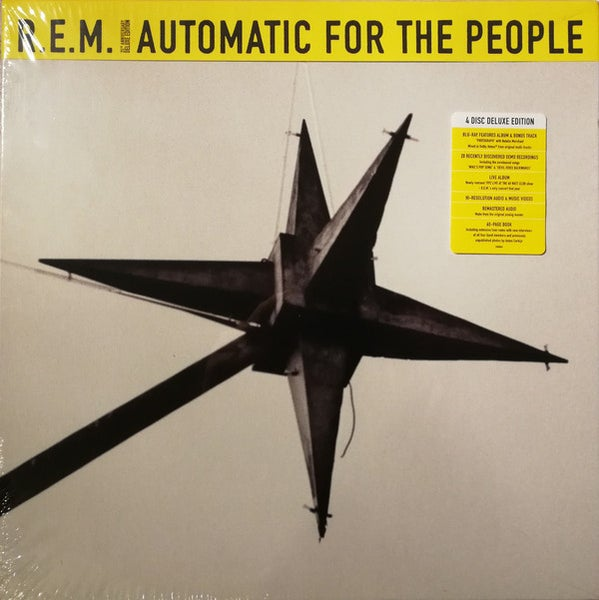 Image of R.E.M. - Automatic For the People Deluxe CD Box