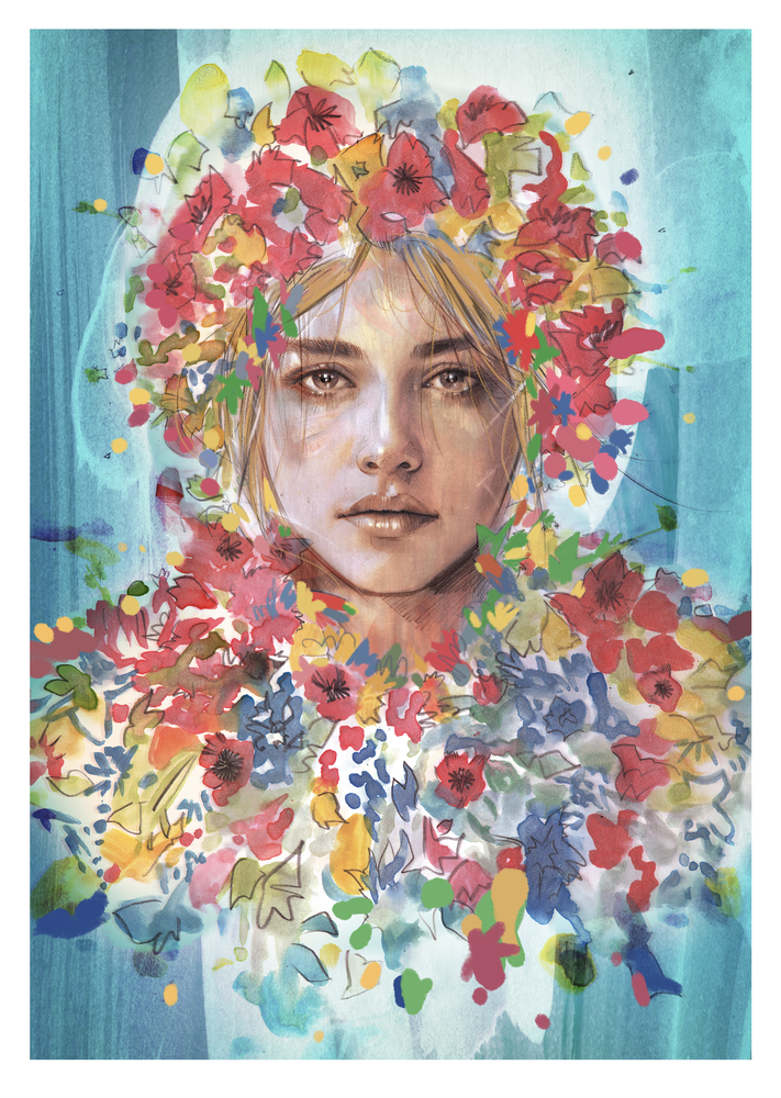 Image of DANI VARIANT SIGNED TIMED EDITION PRINT