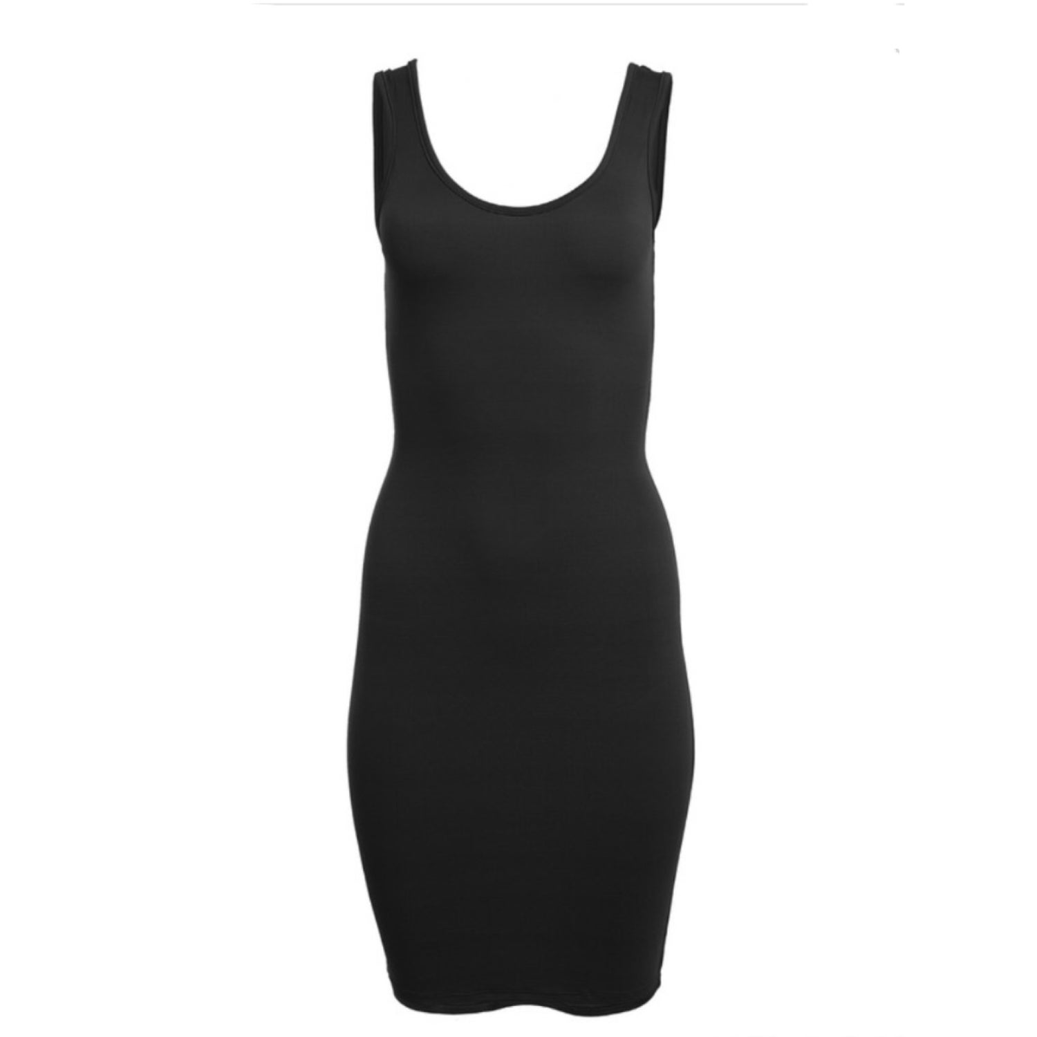 Image of Fitted Midi Dress