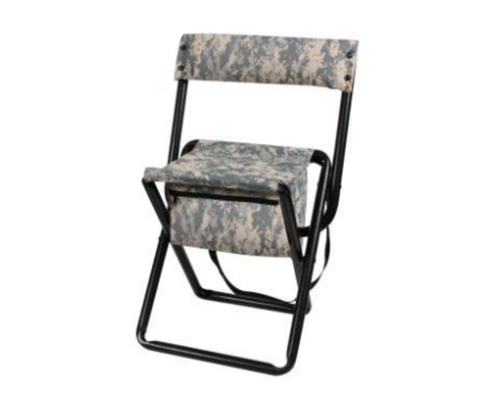 Image of Deluxe Folding Stool With Pouch