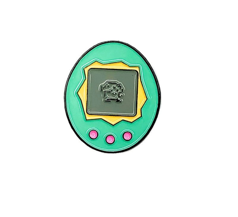 Image of 'Tamagotchi' Enamel Pin