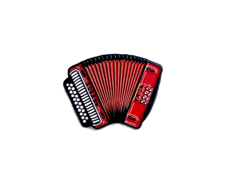 Image of 'El Acordeon' Enamel Pin