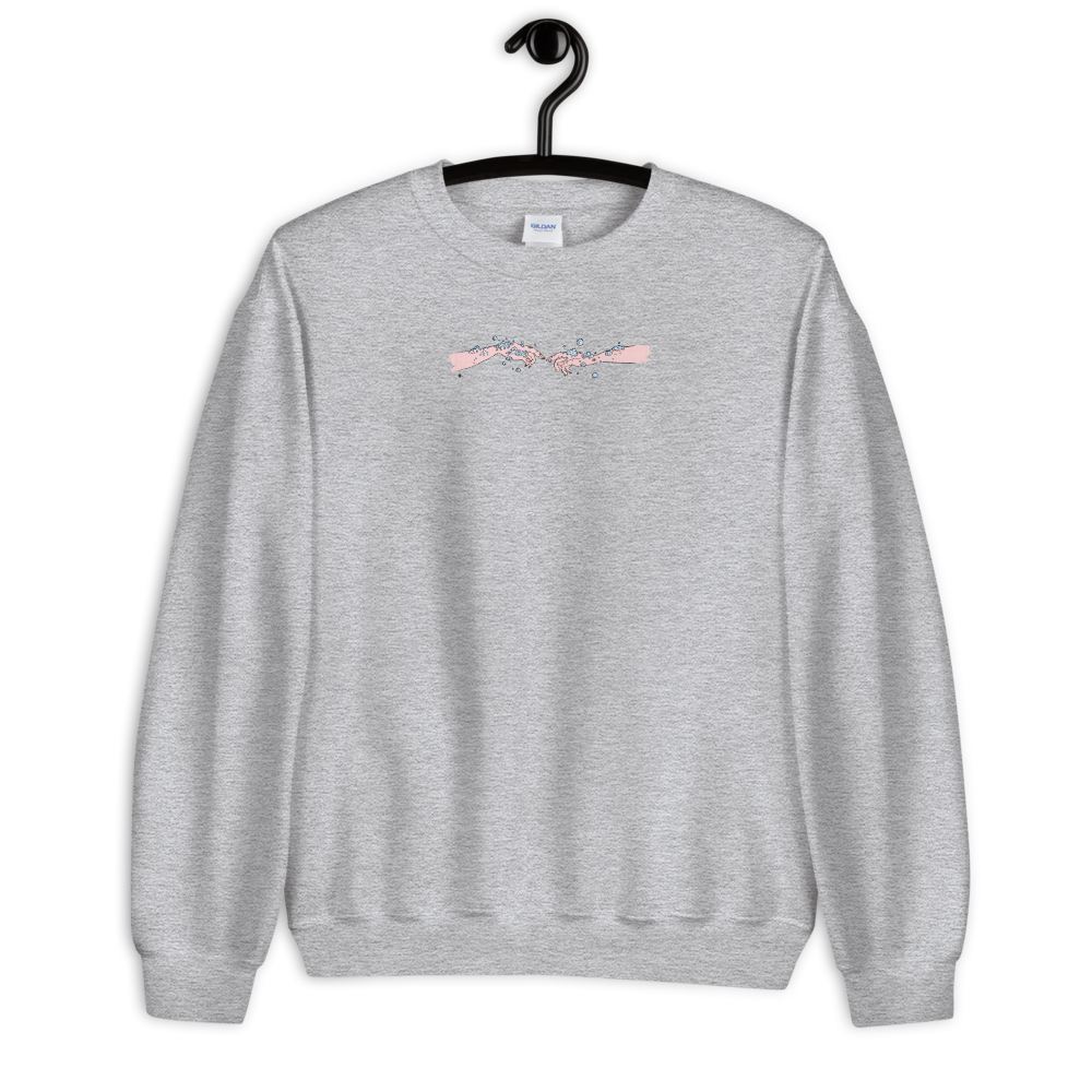 Image of Until We're Clean Again- Grey Sweatshirt