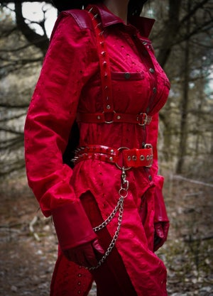 Image of Red Switchblade Harness