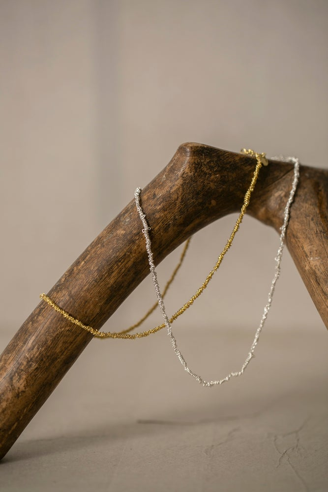 Image of Gathered necklaces by Stephanie Schneider