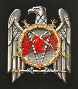 Image of Slayer Eagle Original Art