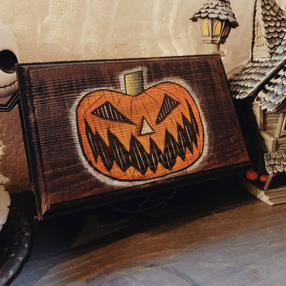 Image of Halloween Town Jewelry Box