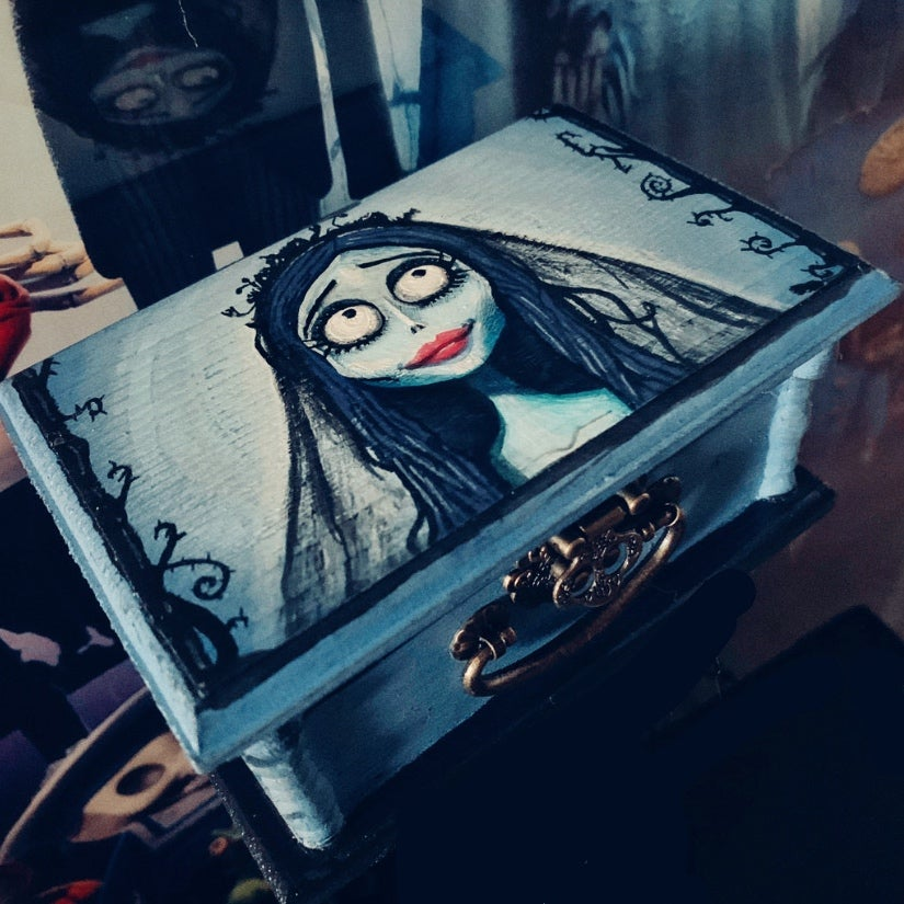 Image of Corpse Bride Jewelry Box
