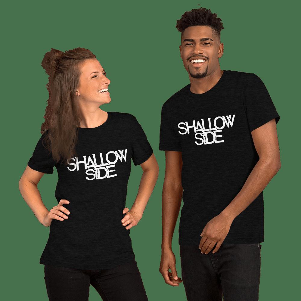 Shallow Side White Logo Unisex T-Shirt
