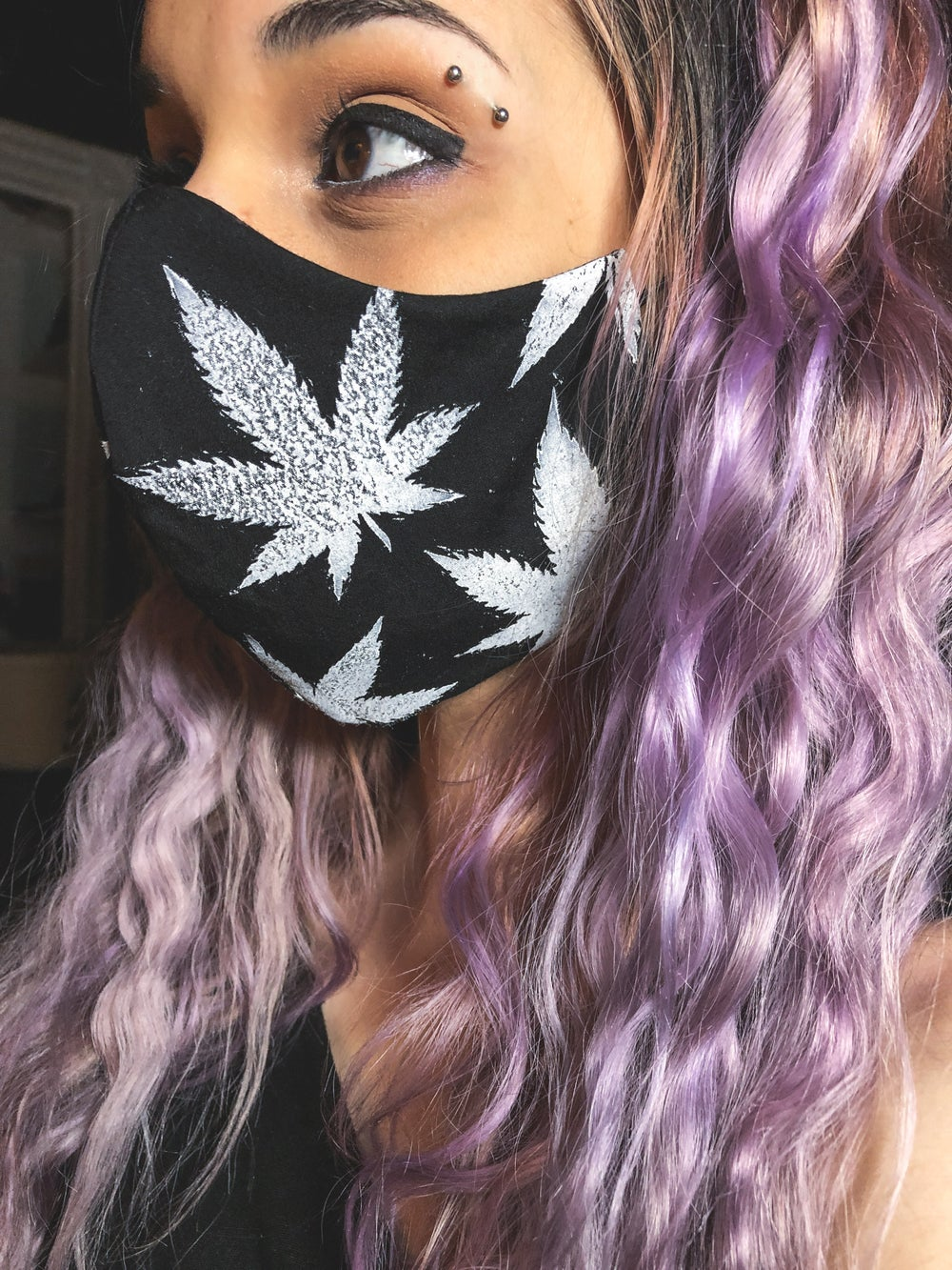Image of White Widow Face Mask