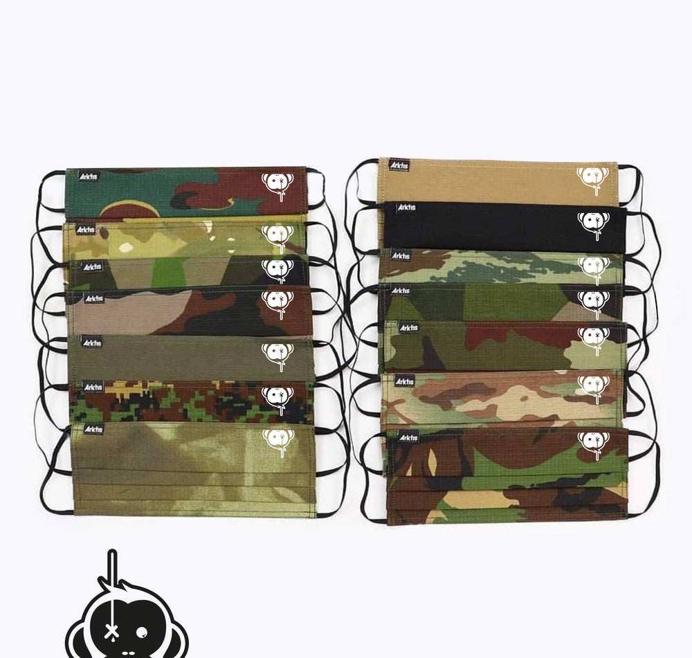 Image of Monkey Climber x Arktis collab Surgical Style Facemasks I Various colours