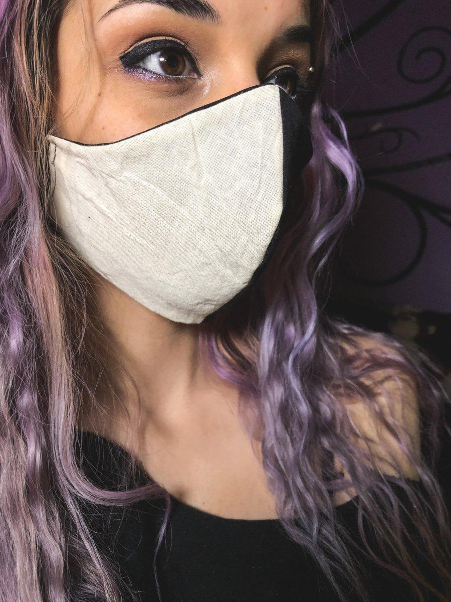 Image of Cruella De Vil Face Mask