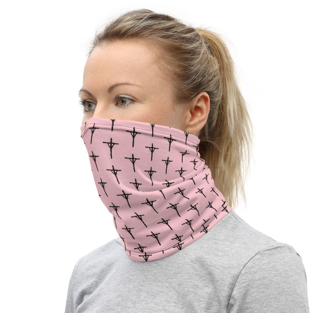 Image of PINK MINI RUNE Neck Gaiter