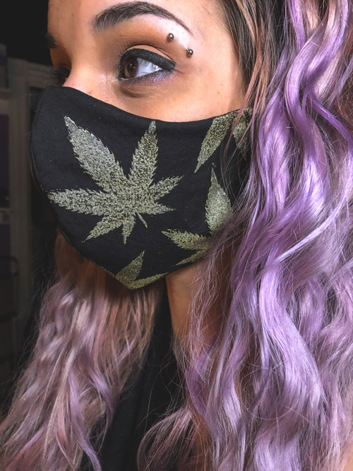 Image of Acapulco Gold Face Mask