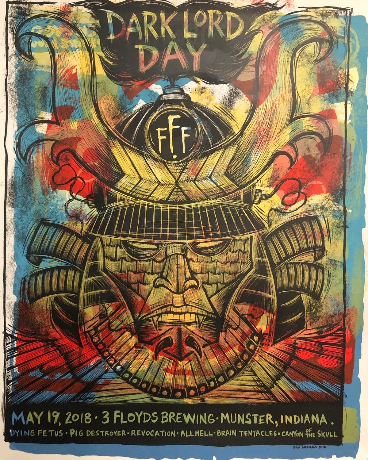 Dark Lord Day Test Print A-1Y