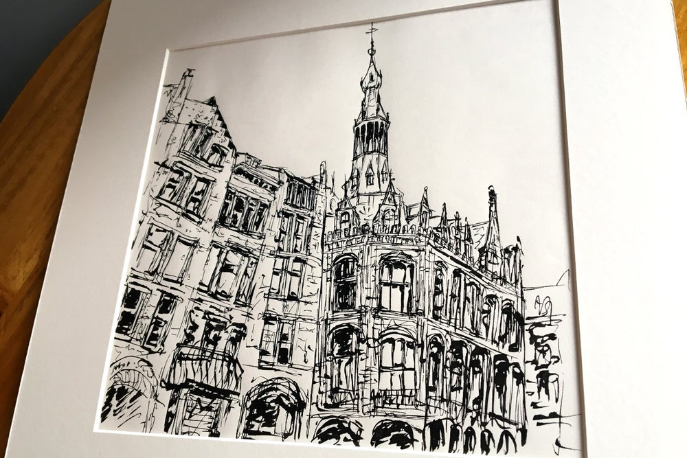 Image of Urban Inkscape 6 - Amsterdam