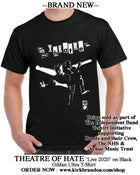 Image of THEATRE OF HATE Live 2020 T-shirt